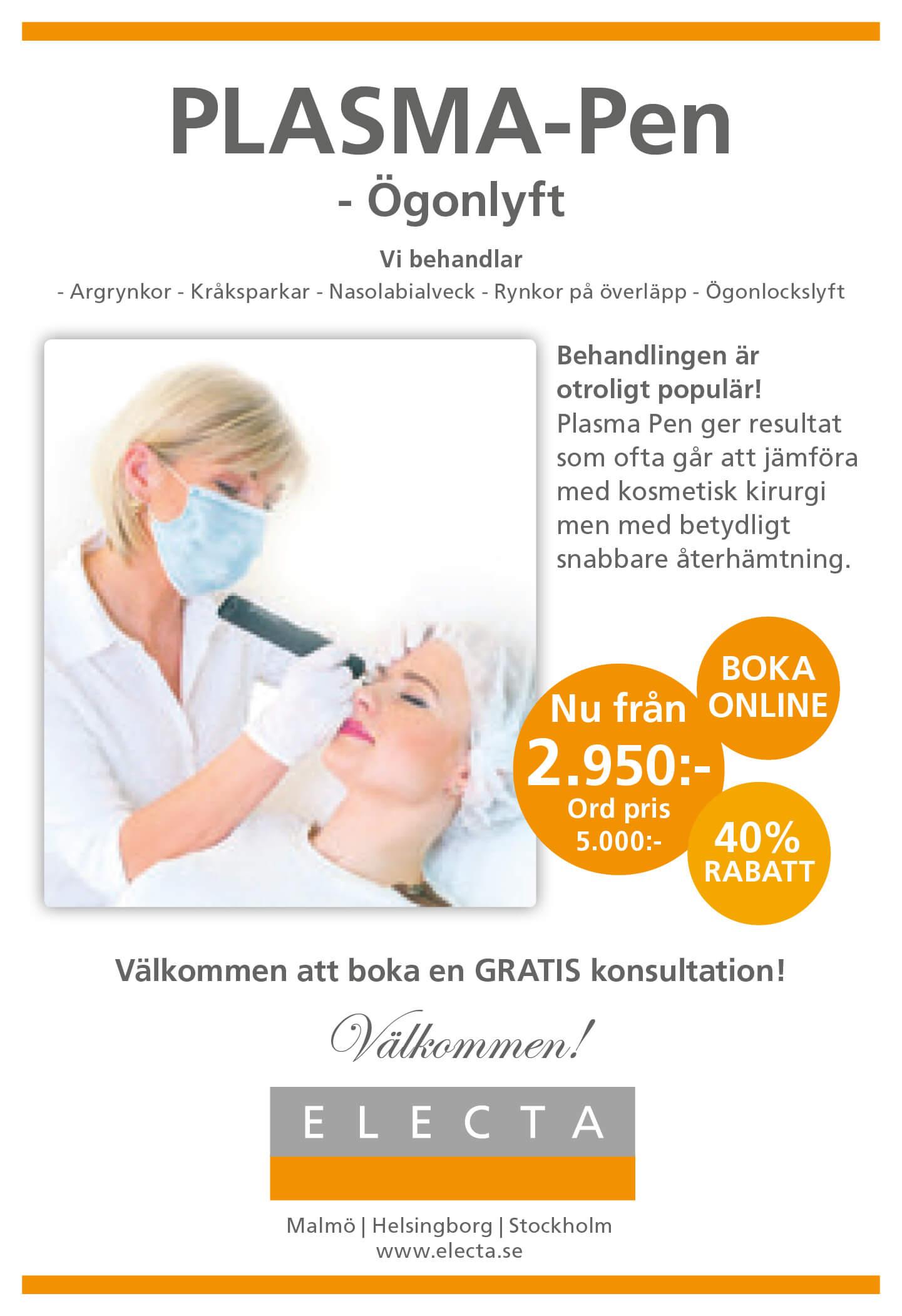 ansiktsbehandling helsingborg erbjudande